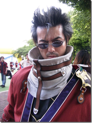 final fanatasy x cosplay - auron