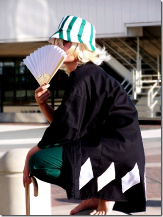 bleach cosplay - urahara kisuke