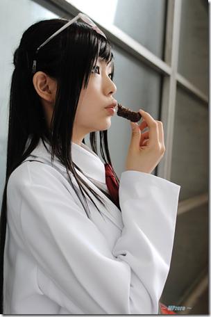 gyakuten saiban 4 / ace attorney apollo justice cosplay - houzuki akane / ema skye