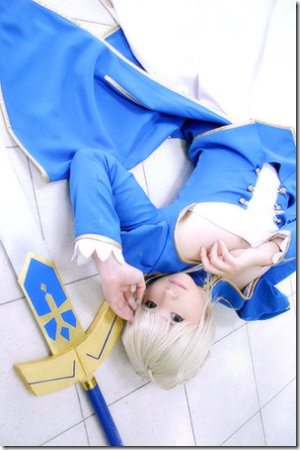 Saber Fate on Arisa Mizuhara In Fate Stay Night Cosplay   Saber Aka Arturia