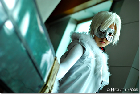 d. gray-man cosplay - allen walker, the crowned clown