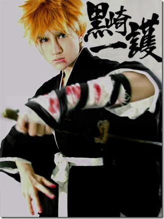 bleach cosplay - kurosaki ichigo