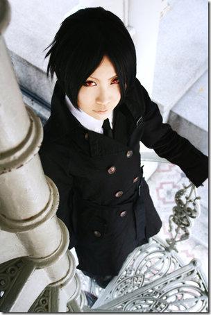 kuroshitsuji / black butler cosplay - sebastian michaelis