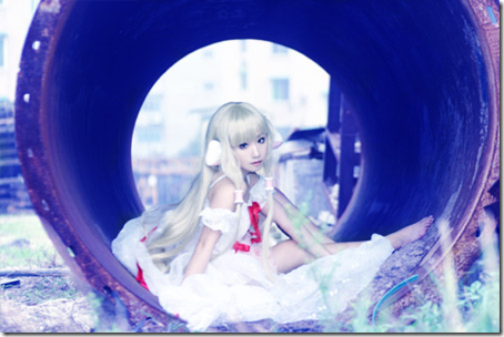 chobits cosplay - chi / elda 06