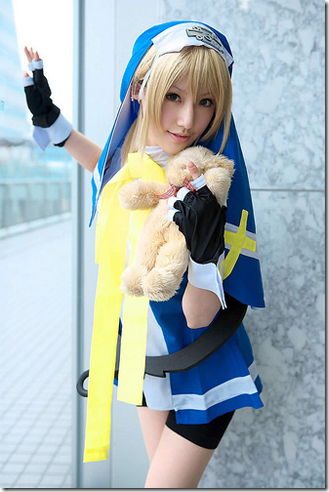 guilty gear xx cosplay - bridget 03