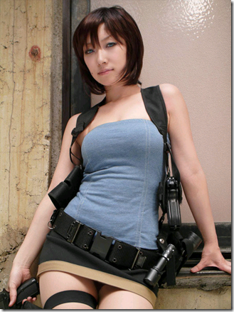 resident evil: umbrella chronicles cosplay - jill valentine