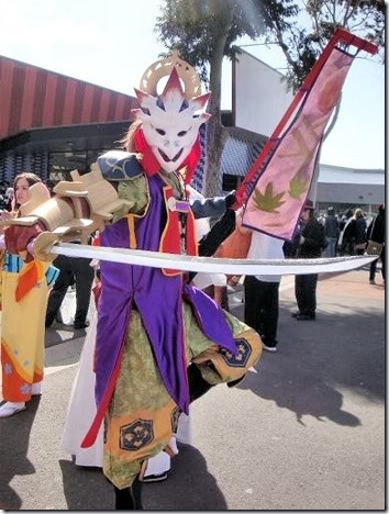unknown cosplay 55 / soul calibur 3 cosplay - yoshimitsu