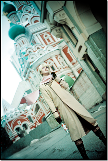 hetalia: axis powers cosplay - russia by yukin0hime