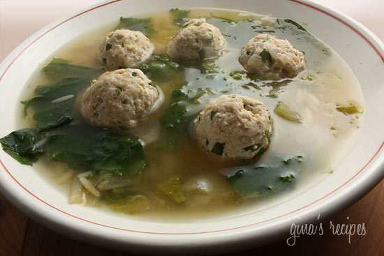 turkey meatballs crock pot italian turkey meatballs escarole soup ...