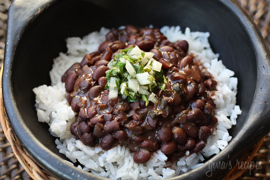 Brazilian black beans skinnytaste rice and beans are my husbands favorite meal so this is a dish i make often i love that it makes a lot so its great for a crowd and leftovers freeze forumfinder Images