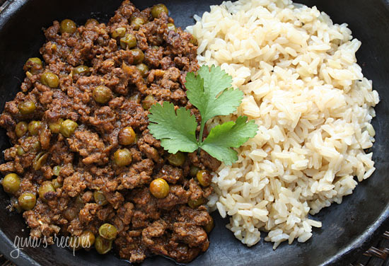 Lamb Kheema with Peas | Skinnytaste