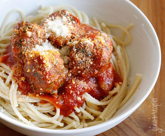Skinny Italian Spinach Meatballs | Skinnytaste