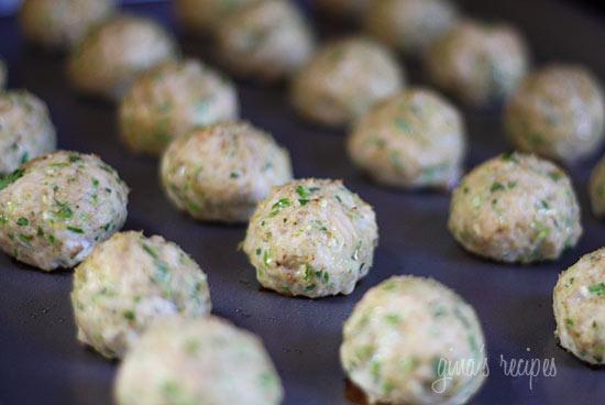 Southwest Turkey Meatballs With Creamy Cilantro Dipping Sauce Recipe ...