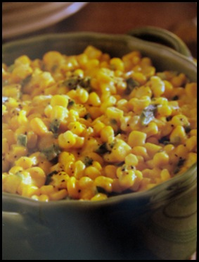 CHEESEY corn