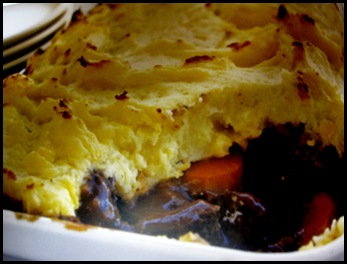beef and garlic pie