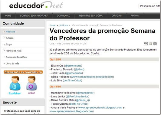 semana do professor oeducador.net