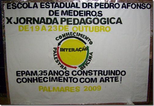 X Semana Pedagógica - EPAM - Palmares - PE - Brasil