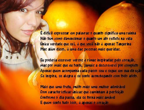 Sobre tangerina