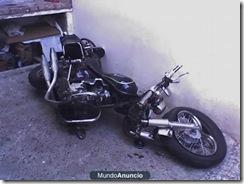 moto chocada