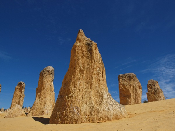 five pinnacles