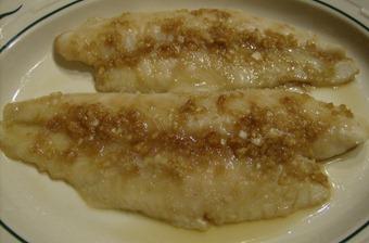 White Ruffy with Teriyaki Ginger Sauce (640x422)