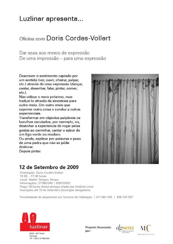Luzlinar apresenta Doris Cordes-Vollert