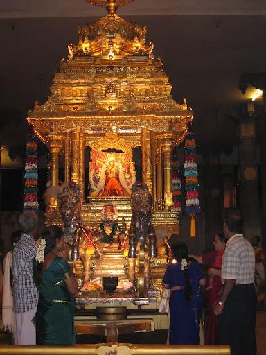 Ashtadasabhuja Durga Darshana - 05. Sri Kamakshi Amman Temple, Mangadu