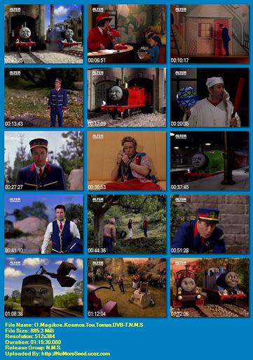 Τόμας το Τρενάκι: Ο μαγικός κόσμος του Τόμας - Thomas the tank engine & friends (Thomas and the Magic Railroad) (2000) (DVB-T) N.M.S (ΜΕΤΑΓΛΩΤΤΙΣΜΕΝΟ ΣΤΑ ΕΛΛΗΝΙΚΑ) (ALTER)