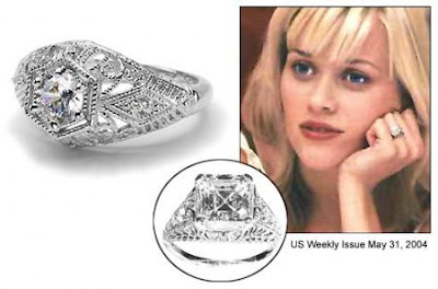 reese witherspoon s engagement ring given by jim toth