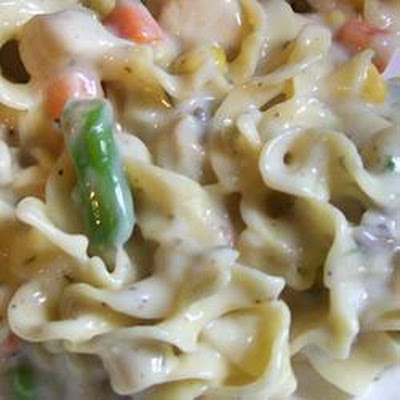 Chicken Pasta in Creamy Sauce