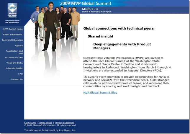 2009 MVP Global Summit