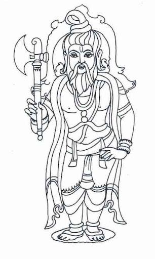 Lord Parashurama Cover