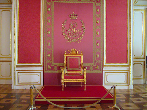 Tron Stanisława Augusta w Zamku Królewskim