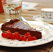 Schokoladentarte © H. Brune