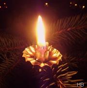 Kerze © H. Brune