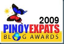 2009 Pinoy Expats Blog Award
