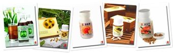 View DXN Food & Supplements Series