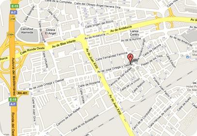 Ubicación mapa Asunción