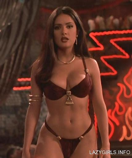 salma hayek pussy