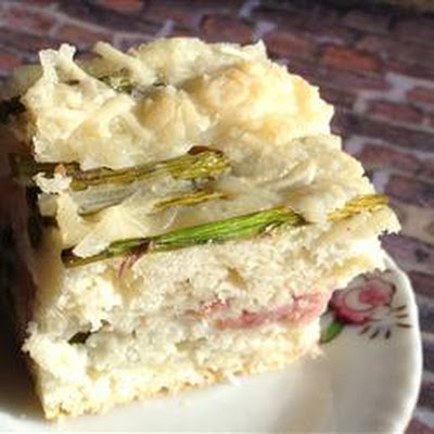 Ham and Asparagus Brunch Bake