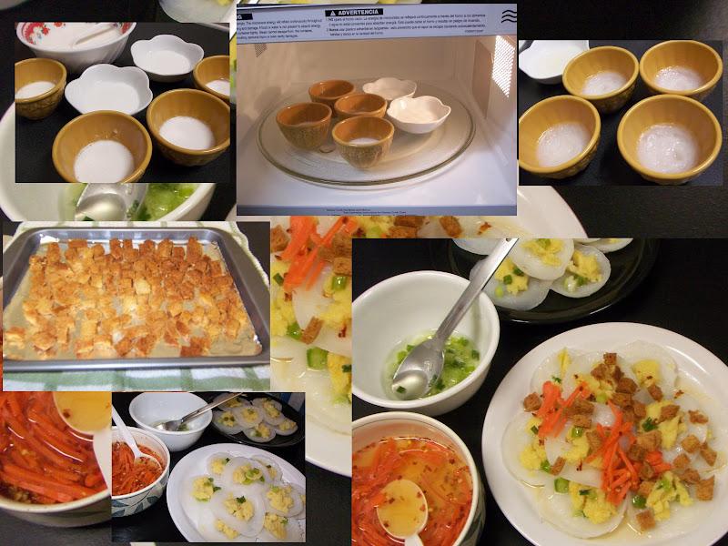 Bánh Bèo Mặn (hấp bằng lò vi sóng) Banhbeovisong