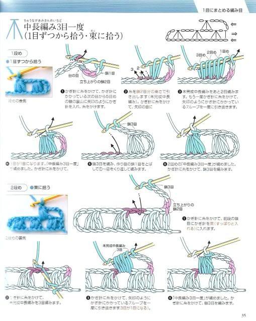 Những mũi MÓC (2) Crochet32