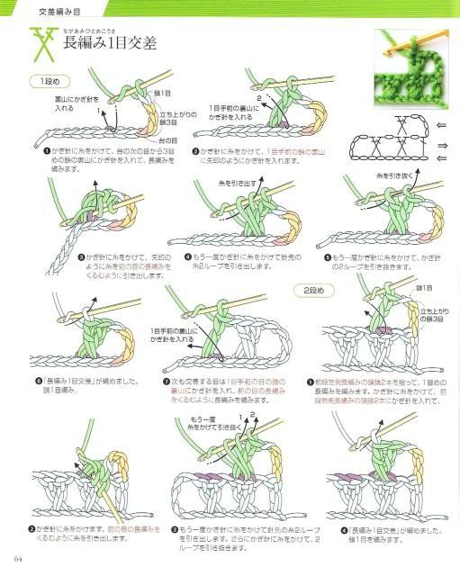 Những mũi MÓC (3) Crochet61