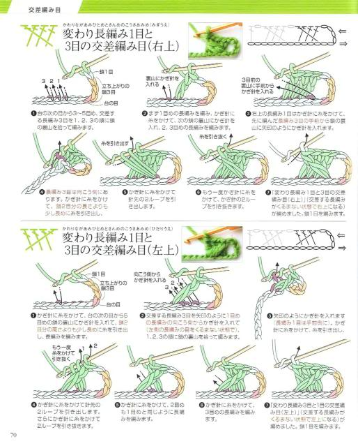 Những mũi MÓC (3) Crochet67