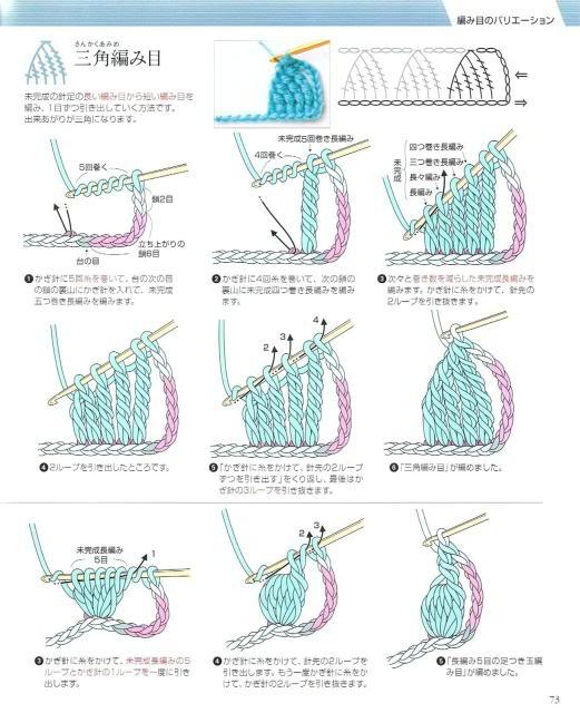 Những mũi MÓC (3) Crochet70