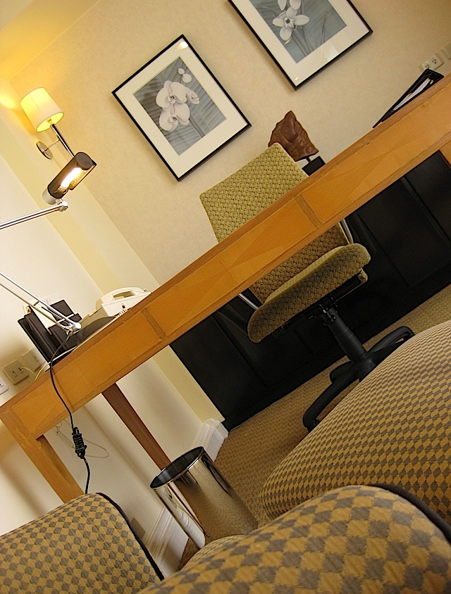 study or office of Sofitel Manila's Opera Suite