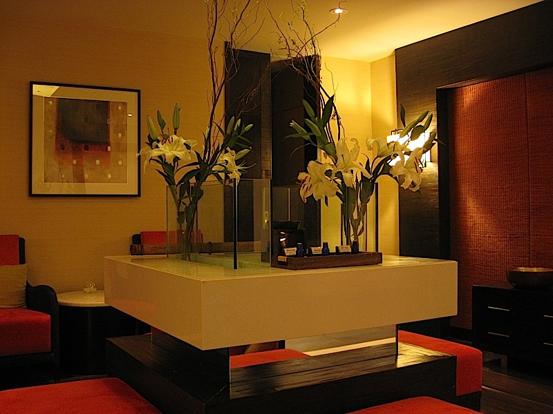 waiting room of Sofitel Manila's Le Spa