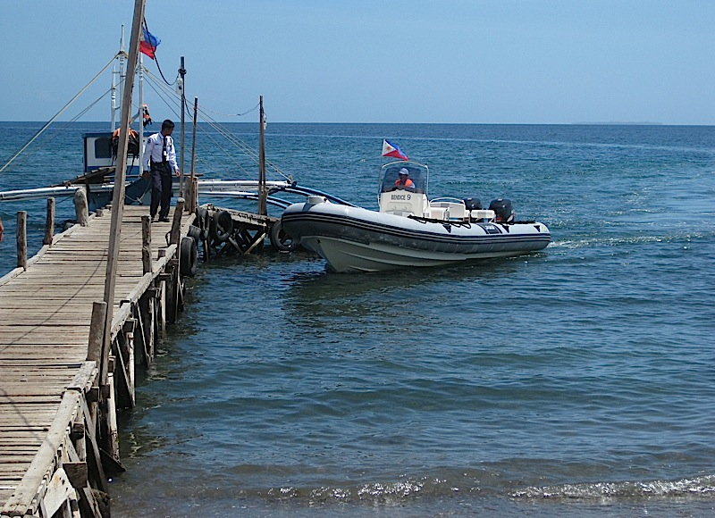 Bellarocca's rubber boat