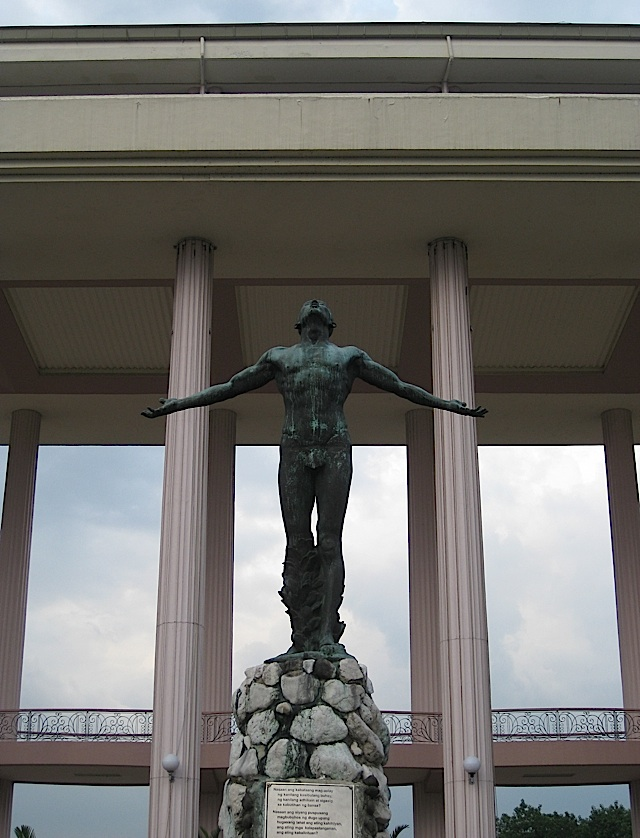 the Oblation in the University of the Philippines - Diliman