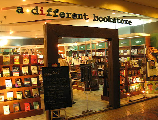 A Different Bookstore, Eastwood City Walk